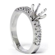 1/2ct Diamond Engagement Ring White Gold Setting Mount