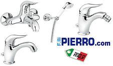 Serie bagno Lavabo Bidet Doccia Vasca rubinetto miscelatore rubinetteria Duka