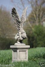 Vidroflor Gartenfigur Engel RACHEL Gartendeko Steinfigur Gartenskulptur büste