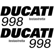 MAXI KIT DUCATI TESTASTRETTA 998 Stickers Autocollants Adhésifs Moto Qualité