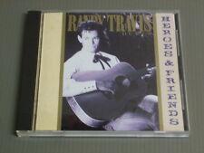 RANDY TRAVIS Japan 14 tracks CD, HEROES AND FRIENDS