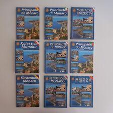 Principauté Monaco Monte-Carlo fascicule vintage visite guide touristique N4006