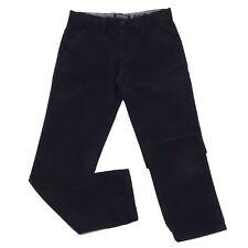 9179T pantalone bimbo WOOLRICH cotone blue cotton trouser boy
