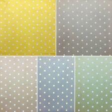 100% Cotton Fabric Lifestyle Dotty Polka Dots Spots Spotty 140cm Wide