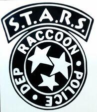 Resident Evil S.T.A.R.S. Logo vinyl sticker decal choose Color Size