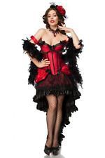 Burlesque Saloon Moulin Rouge Girl  Kostüm    Karneval Fasching Komplett Set