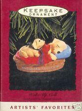 1993 Hallmark WAKE UP CALL LABRADOR BOOK VALUE $16