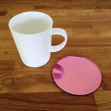 Round Coaster Set - Pink Mirror