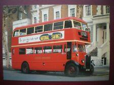 POSTCARD BUS LONDON TRANSPORT STL TYPE BUS 1932-55 2679 WERE BUILT FOR LGO
