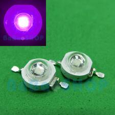 3W 45mil UV 365nm~400nm~420nm Purple High Power LED Beads Lamp Light Aquarium