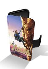 Legend Of Zelda Breath Wild Hero Link Mountain Wallet Leather Phone Case