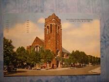 1ST PRESBYTERIAN CHURCH ATLANTIC CITY, NJ 1947  POSTCRD