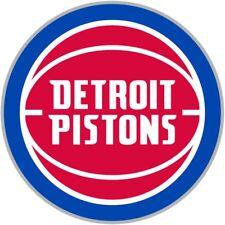 Detroit Pistons #7 NBA Team Logo Vinyl Decal Sticker Car Window Wall Cornhole