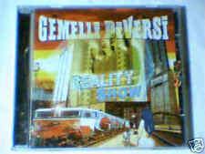 GEMELLI DIVERSI Reality show cd NUOVO