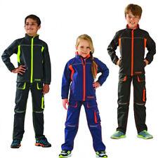 Junior Arbeitsjacke Arbeitskleidung Freizeitjacke Softshell Jacke Kinder farbig