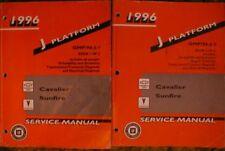 1996 Cavalier Sunfire shop service manual set  96
