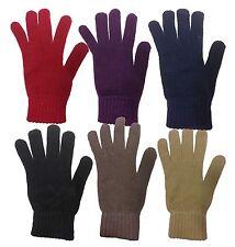 Ladies Super Soft Warm Fine Knit Thermal Winter Gloves