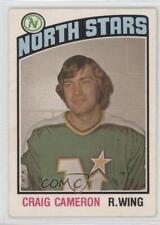 1976-77 O-Pee-Chee #327 Craig Cameron Minnesota North Stars Hockey Card