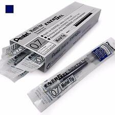 12 x Pentel Energel 0.7mm Refill Metal Tip LR7- BL77/BL57/BL37 etc - All Colours