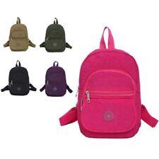 Girls Small Multi Pocket Holiday School Trip Backpack RuckSack Boy Bag