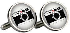 Leica M8 Silver Cufflinks and Gift Box