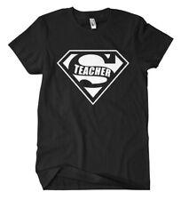 Super Teacher T-Shirt Lehrer Abschlussklasse Lehrerin Schule ABI Abitur Fun