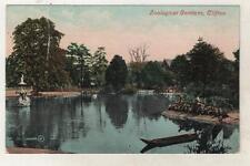 BRISTOL - ZOOLOGICAL GARDENS, CLIFTON 1910 Postcard *