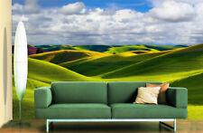 3D Green Hills 52 Wall Paper Murals Wall Print Decal Wall Deco AJ WALLPAPER