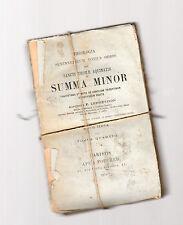 summa minor sancti thomae aquinatis - f. lebrethon -