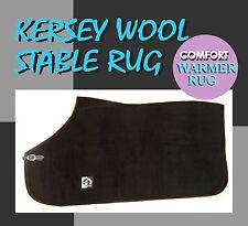 COMFORT KERSEY WOOL HORSE RUG FREE POSTAGE NAVY
