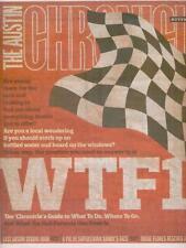 Formula 1 U.S. Grand Prix The Austin Texas Chronicle  Nov 16, 2012 Issue