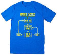 Match Tactics, Pass to Appiah - Funny AFC Wimbledon Football T-shirt