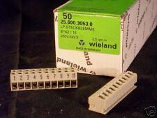 WIELAND PCB terminal strip 25.600.3053.0