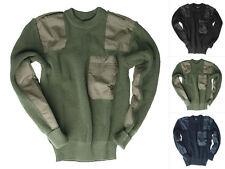 Mil-Tec BW Acryl-Pullover mit Brusttasche Bundeswehr Bundeswehrpolluver 48-60