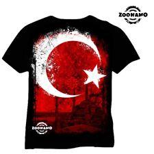 Zoonamo Maglietta Turchia Classic Calcio Em S M L XL XXL 3XL Nuovo