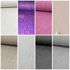 Crystal Encrusted Vinyl Glitter Wallpaper Sparkles Shiny Stripe 8 Colours