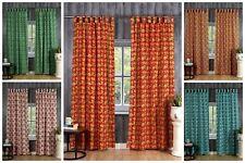 Indian Balcony Valance Drape Window Curtains Ethnic Cotton Curtain Tapestry Boho