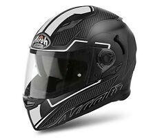 AIROH MOVEMENT-S Faster White Matt Sun Visor Motorbike Helmet Pinlock Included