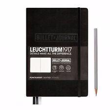 Leuchtturm1917 Medium A5 Hardback Notebook - Bullet Journal - Choose Colour