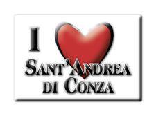 CALAMITA CAMPANIA FRIDGE MAGNETE SOUVENIR I LOVE SANT'ANDREA DI CONZA (AV)