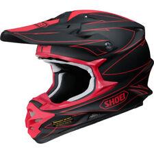 2017 Shoei VFX-W Motocross & Enduro Helmet - Hectic Black Red