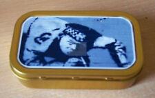 Banksy Cop Sniffing Coke  graffiti 1 & 2oz Tobacco/Storage Tins