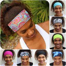 Women's Wide Elastic Headband for Sports, Running, Yoga, Fitness, Alopecia