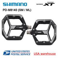 2019 Shimano Deore XT PD-M8140 SPD MTB Trail Flat Pedals MX80 upgrade