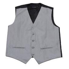 Men's Gray Pattern Tuxedo Vest Formals Weddings Proms Fashion Waistcoat