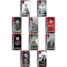 AMC THE WALKING DEAD CITATIONS ROSE DÉFENSE ANTI-CHOC POUR iPHONE SAMSUNG LG