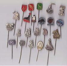 Vintage ZOO pin badges 1960s Artis Amsterdam Diergaarde Blijdorp Dierentuin