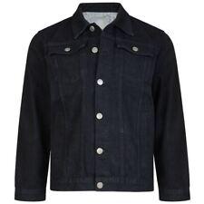 Kam para Hombre Chaqueta Vaquera Occidental de alta calidad (401) en negro en tamaño pequeño a 8XL