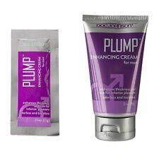 Doc Johnson Plump Enhancement Cream For Men Thicker Harder Penis Erection Lube