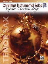 Christmas Instrumental Solos: Tenor Sax : Popular Christmas Songs: Level 2-3